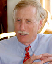 Angus King, Independent
