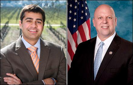 Ricky Gill (left) / Rep. Scott DesJarlais
