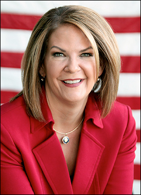 Former Arizona state senator and GOP Senate challenger Kelli Ward