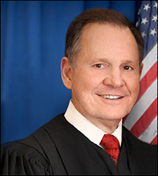 Judge Roy Moore, the Republican nominee in a special Senate election in Alabama.