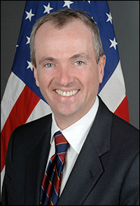 Former US ambassador to Germany and Wall Street executive Phil Murphy (D)