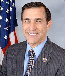 California Rep. Darrell Issa (CA-49)