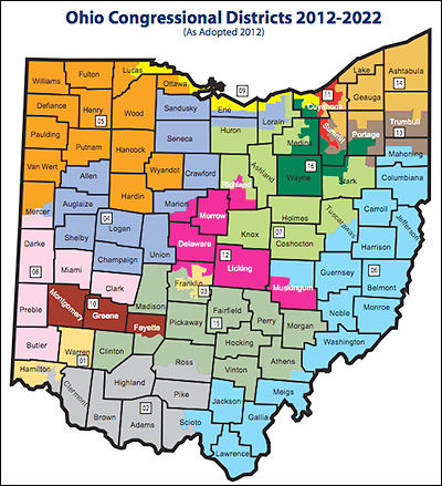 Ohio's Congressional Districts