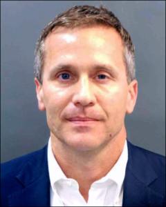 Missouri Gov. Eric Greitens' mug shot