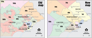 New Pennsylvania Congressional Map - Philadelphia Area
