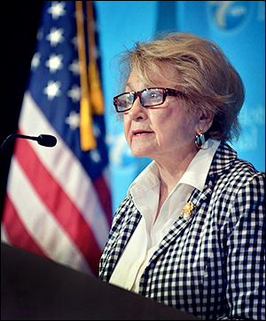 Veteran New York Rep. Louise Slaughter (D-Rochester) | Facebook