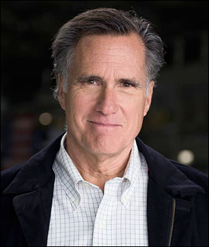 Former presidential nominee and governor, Mitt Romney