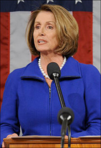 Minority Leader Nancy Pelosi (D-CA)