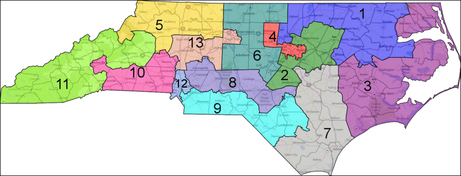 North Carolina Congressional Districts