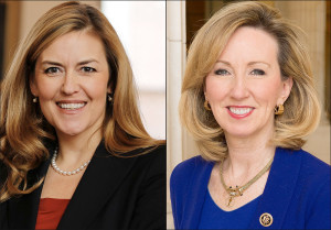 Virginia state Sen. Jennifer Wexton, D-Loudoun County (left) | Rep. Barbara Comstock, R-McLean (right)